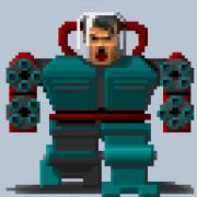 Wolfenstein 3D: Der Mech Warrior Hitler in Wolf Classic