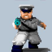 Wolfenstein 3D: Otto Giftmacher ist ein Endgegner von Wolf Classic