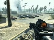 Call of Duty 4: Modern Warfare: Der Parkplatz vor dem Sendegebäude.