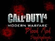 CoD4 - Singleplayer Blood Mod