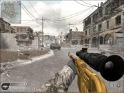 Call of Duty 4: Modern Warfare: Screen der Skin Mod Gold Draqunov.