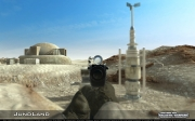 Call of Duty 4: Modern Warfare: Screen aus der Galactic Warfare 1.0 Mod.