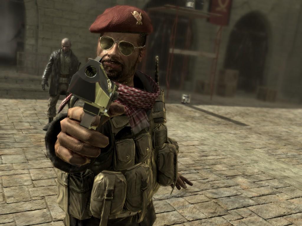 Call of Duty 4: Modern Warfare: Öffentliche Hinrichtung von Yasir Al Fulani.