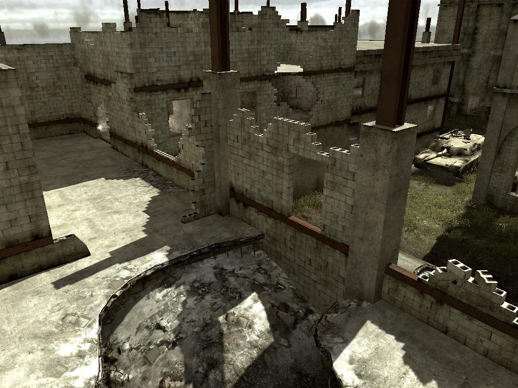 Call of Duty 4: Modern Warfare: Map Ansicht - Construction