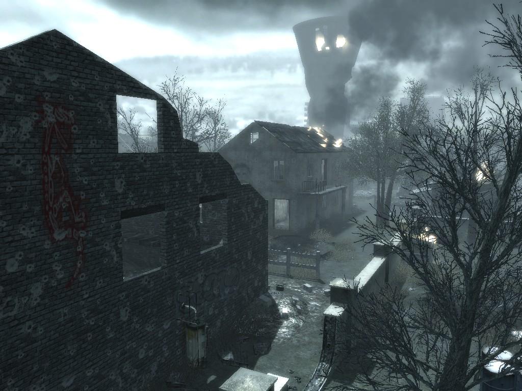Call of Duty 4: Modern Warfare: Map Ansicht - Vukovar
