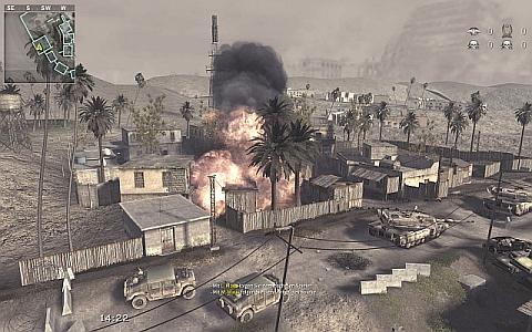 Call of Duty 4: Modern Warfare: Screenshot aus der Elements of War Modifikation für Call of Duty 4