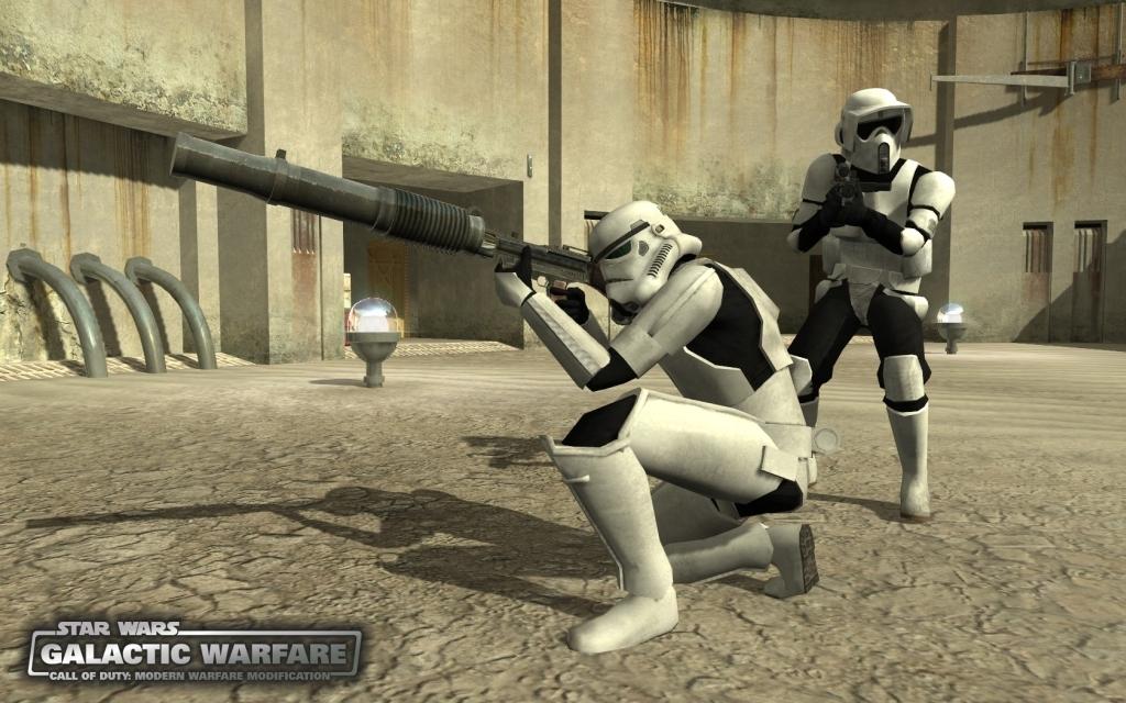 Call of Duty 4: Modern Warfare: Mod Screenshot -  Mod Ansicht - Star Wars Mod: Galactic Warfare für Call of Duty 4