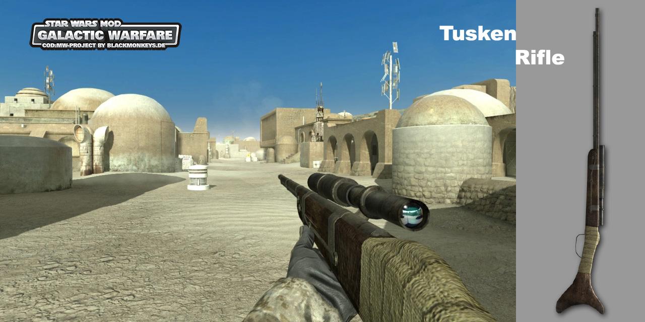 Call of Duty 4: Modern Warfare: Mod Screenshot - Star Wars Mod: Galactic Warfare für Call of Duty 4