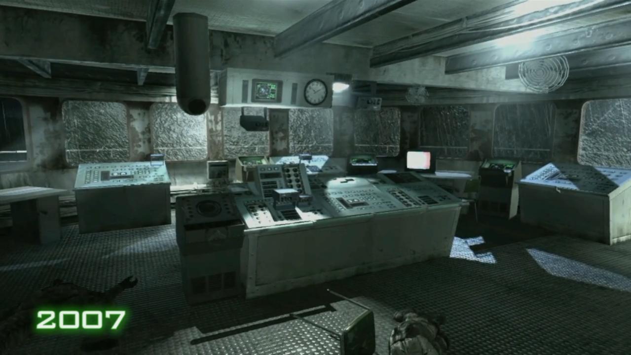 Call of Duty 4: Modern Warfare: 2007 vs 2016 Screens