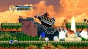 Sonic The Hedgehog 4: Episode 1: Screenshot aus der klassischen 2D-Sidescroller-Action