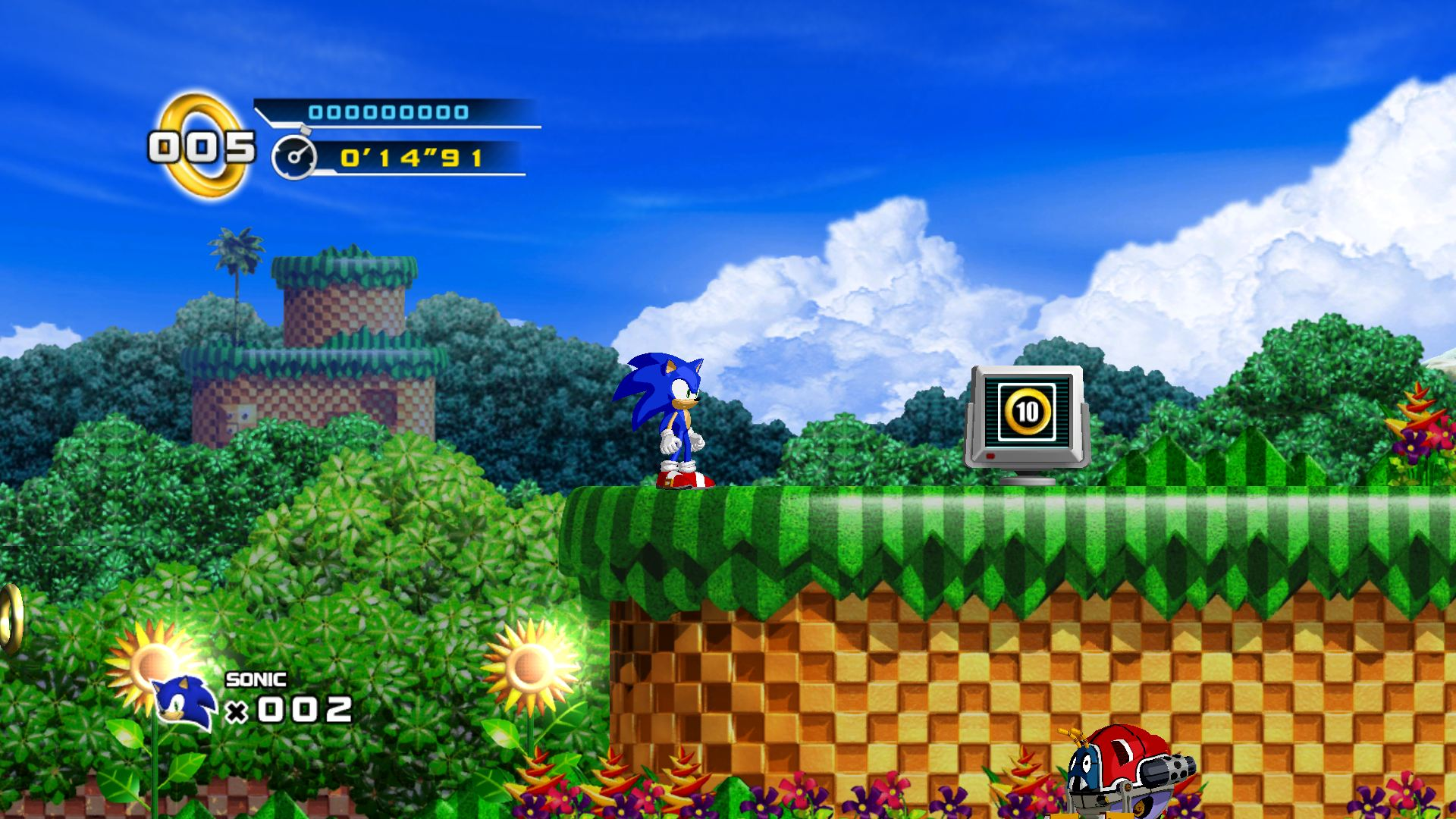 Sonic The Hedgehog 4: Episode 1: Erste Bilder zu Sonic The Hedgehog 4