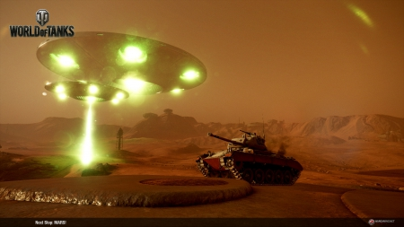 World of Tanks - Wargaming schickt WoT Konsolen Spieler auf den Mars