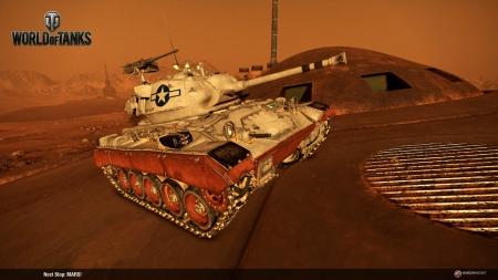 World of Tanks: World of Tanks Console - Mars Mode
