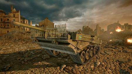 World of Tanks: Die schwedischen Panzer rollen auf die Konsolen zu