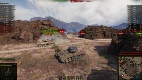 World of Tanks: Screenshots aus dem Spiel