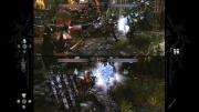 Hunted: Die Schmiede der Finsternis: Screenshot zum Splitscreen-Modus