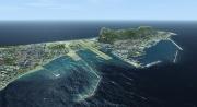 Microsoft Flight Simulator X: Neue Screenshots zeigen das Addon Gibraltar X für Mirosoft Flight Simulator X