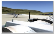 Microsoft Flight Simulator X: Screenshot aus dem Add-on Dangerous Airports 1