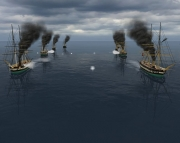 Ironclads: Schleswig War 1864: Screen aus dem Strategie Titel Ironclads: Schleswig War 1864.