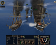 Ironclads: High Sea: Screen aus dem Strategie Titel Ironclads: High Sea.