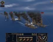 Ironclads: High Sea: Screen aus dem Strategie Titel Ironclads: High Sea.