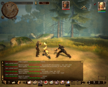 Das Schwarze Auge: Drakensang: Screenshot zum Titel.