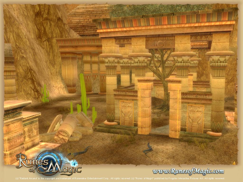 Runes of Magic: The Elder Kingdoms: Neue Gameplay-Features im Detail, Fallen, Rätsel und Strategien im: Das Grabmal von Kawak