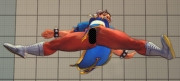 Street Fighter IV: Screen mit dem Chun Li Nackt-Patches
