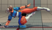 Street Fighter IV: Screen mit dem Chun Li Nackt-Patch