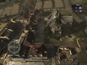 Medal of Honor: Airborne: Die Map Destroyed Village - Zerstoertes Dorf von Medal of Honor: Airborne