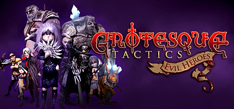 Logo for Grotesque Tactics: Evil Heroes