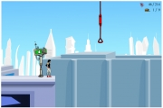 Mirror's Edge: Screen aus dem Flash-game.