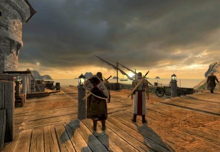 The First Templar: Screenshot zum Titel.
