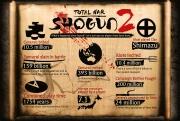 Total War: Shogun 2: Was ist seit dem Launch passiert? Diese Grafik gibt Aufschluss.