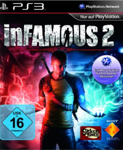 Logo for inFamous 2
