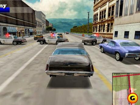 Driver: Screen zum Spiel Driver.