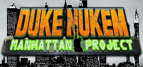 Logo for Duke Nukem: Manhattan Project