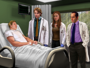 Dr. House: Screenshot aus dem Spiel zur Fernsehserie