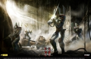 Warhammer 40.000: Dawn of War II: Wallpaper aus dem Dawn of War II Fansite-Kit