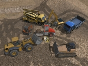 Bagger-Simulator 2011: Screenshot aus der Buddel-Simulation