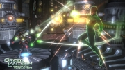 Green Lantern: Rise of the Manhunters: Screen aus der Konsolen Version.