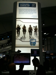 Operation Flashpoint: Red River: Screenshot vom Intel Stand @GDC