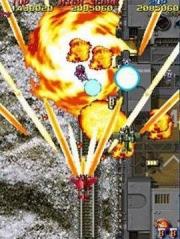Raiden Fighters Aces: Screen aus der Spielhalle stammende dreiteilige