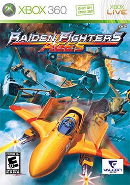 Logo for Raiden Fighters Aces