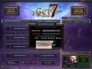 Get7-Online: Screen aus dem Online Card Game Get7-Online.