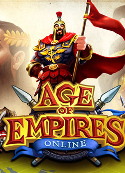 Logo for Age of Empires Online