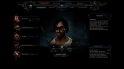 Risen 2: Dark Waters: Charakter Interface vom zweiten Teil.