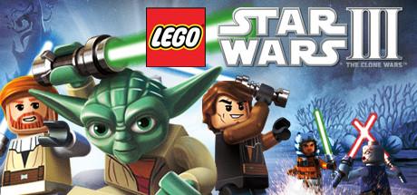 Logo for LEGO Star Wars III: The Clone Wars