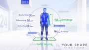 Your Shape: Fitness Evolved: Screenshot aus dem Fitness-Programm