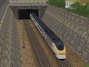 Eisenbahn-Simulator: Screen aus der Eisenbahn Simulation.
